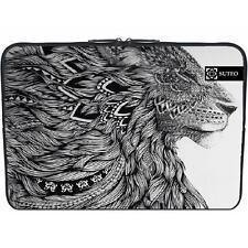 1513 -  housse neoprene pc ordinateur portable macbook 15.6 pouces - lion azte