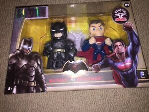 batman & superman metals die cast figures mint in box dc comics Henry Cavill