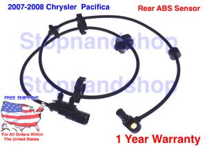 2 X New Rear ABS Anti-Lock Brake Wheel Sensors For Chrysler Pacifica 68020487AA