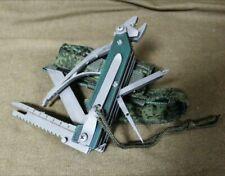 RATNIK 6E6 ORIGINAL RUSSIAN ARMY KNIFE MULTITOOL WITH POUCH EMR DIGITAL FLORA