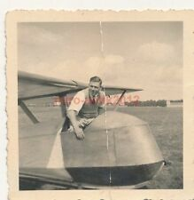 3 x Foto, Segelflieger in Langendamm 1940, 01 (N)19223