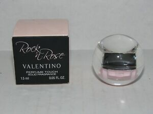 Rock n Rose Valentino Perfume Touch Solid Fragrance .05 Fl Oz NIB HTF