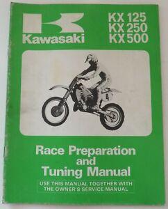 Kx125 Motorcycle Repair Manuals Literature For Sale Ebay