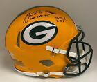 "Aaron Rodgers "" 2020 NFL MVP "" Signed Packers PROLINE Helmet FANATICS LE# 4/12"