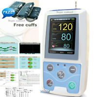 ABPM50 Arm 24h NIBP Ambulatory Blood Pressure Monitor+PC Software+3 Cuffs,hot
