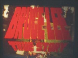 BRUCE LEE THE MAN THE MYTH SUPER 8 COLOUR SOUND 400FT 8MM FILM CINE SCOPE