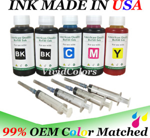 500ml 4 color bulk refill ink for hp dell canon brother lexmark printers