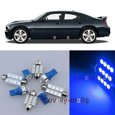 Luxury Blue Car Auto Light Interior Package 5x for Dodge Charger 2006-2010 LA