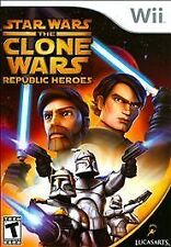 Star Wars: The Clone Wars - Republic Heroes GAME (Nintendo Wii, 2009)
