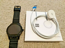 FOSSIL Q Marshall GEN 2 FTW2107 Smart Watch, Model#DW2A, Silicone Band