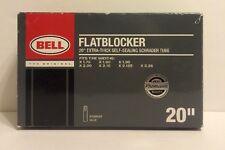 """BELL Flatblocker 20"""" x 1.75 - 2.25 Self Seal Schrader Valve Bike Inner Tube"""