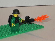 Lego Minifig WW2 Army Flamethrower Soldier Army Builder