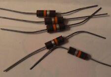 5 1W 15K 10% Carbon Composition Resistors