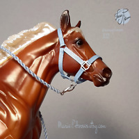 Breyer Halter & Lead Rope set custom model horse tack accessories Peter Stone 5