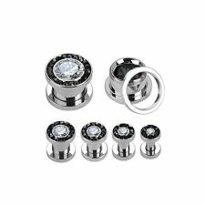 Body piercing bianco 16mm