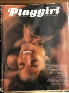 PLAYGIRL MAGAZINE September 1973 Tennessee Williams Nudists