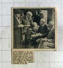 1949 Lord Ammon At Beachville, Lancing Eventide Home For Men, J Manton, F Palmer