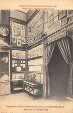 CPA 59 EXPOSITION DE ROUBAIX 1911 EXPOSITION DE L'ECOLE PRIMAIRE DE FOURNES