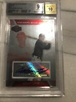 2007 Topps Co Signers Silver Red Adam Lind Rookie RC BGS 9 Auto 10 /175 Jays