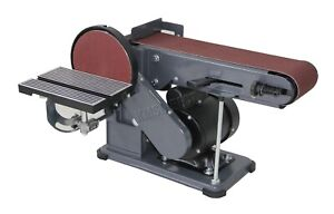 Switzer Heavy Duty Bench Sanding Belt With Disc - Belt Sander - 375W 230V SBD01