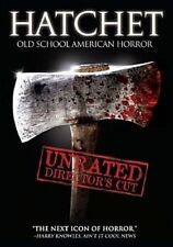 Hatchet Old School American Horror DVD 2006 Kane Hodder Directors Cut