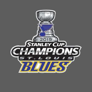 St. Louis Blues 2019 Stanley Cup Champions Vinyl Laptop Car Truck Decal