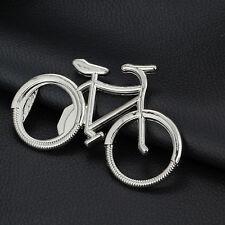 1 Pcs Metal Bike Key Chain Ring Keychain Bicycle Beer Bottle Opener PoIj