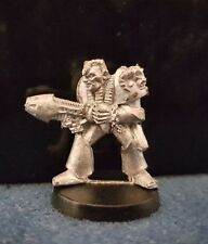 Warhammer40k Rogue Trader Spacemarine with Plasma Gun 2a metal oop 1988 Rare