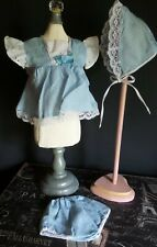 3 Piece antique Style Dress Bonnet and Panties 4 Artist & Composition Baby Doll