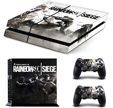 Rainbow Six Vinyl Cover Skin Sticker for Sony PS4 Console & 2 Controller Skins