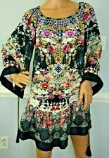 New Camilla Franks Nights With Her Off Shoulder Frill Floral Kaftan Dress 1 / XS