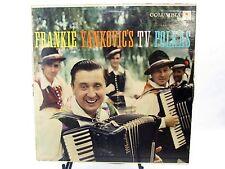 LP Record FRANKIE YANKOVIC  TV Polkas CL-1038 Sunset Valley, Cafe, Valley Spring