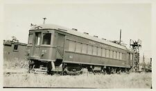 7G318 RP 1942 SAN FRANCISCO & NAPA VALLEY RAILROAD CAR #62 NAPA JUNCTION CA