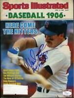 Wade Boggs Jsa Coa Autographed 1986 Si Hand Signed Authentic