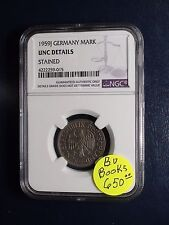 1959J Germany Deutsche Mark NGC UNCIRCULATED 1M COIN PRICED TO SELL !