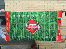 "Coors Light Coca Cola Ritz Home Bowl Football Field Mat Carpet  52"" x 28"" - New"