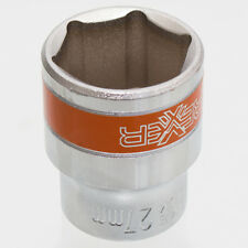 27 mm Steckschlüssel Einsatz sechskant Nuss Länge 43 mm Aufnahme 1/2 Zoll