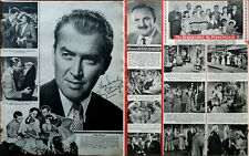 James Stewart / The Remarkable Mr.Pennypacker Clifton Webb Photo Articles 1959