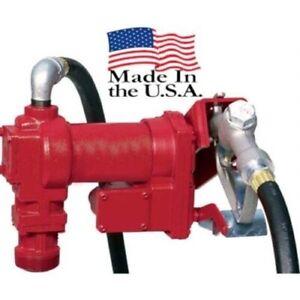 Fuel Transfer Pump - 115 Volt - 15 GPM - 240 Watts - 2 Amps - 2,600 RPM - 1/4 HP