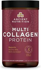 Multi Collagen Protein Powder Pure, Formulated by Dr. Josh Axe, 5 Types of Food