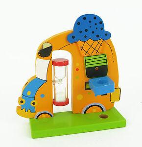 Mazzoleni 23125 Porta Spazzolino in legno per bambini tootbrush holder