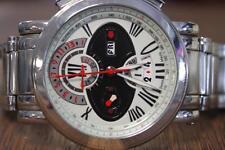 Tourneau Gotham Avantgarde Chronograph 45mm Stainless Steel Men's Watch