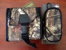 Mossy Oak Binocular & GPS Case Combo Break Up Infinity Pattern Pack Hunting Fish