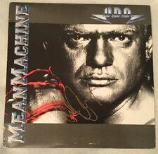 """Autographed Udo Dirkschneider (Accept) """"Mean Machine"""" Vinyl"""