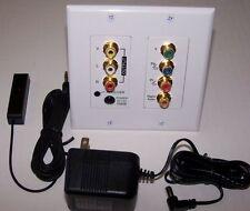 Component Composite Video Audio IR Repeater System CAT5