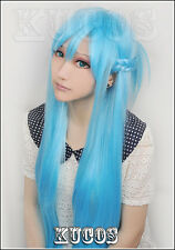 Sword Art Online Asuna Yuuki long cosplay wig costume fasion party Anime hair