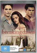 The Twilight Saga 4: BREAKING DAWN Part 1 ; NEW 2-DVD