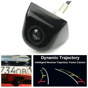 Dynamic Trajectory Parking Line Rearview Reverse Backup Camera For Car Monitor