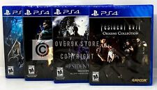 Resident Evil Bundle Origins + 4 + 5 + 6 - PS4 - Brand New | Factory Sealed