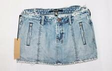 KSUBI Designer Blue Denim Mini Skirt Size S BNWT  #SB93